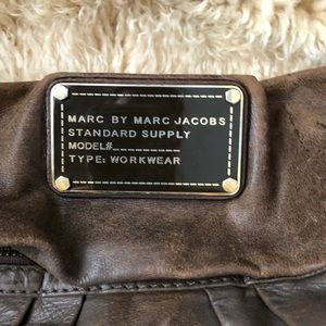 Marc By Marc Jacobs Bags - Marc Jacobs Classic Q Hillier Hobo Leather
